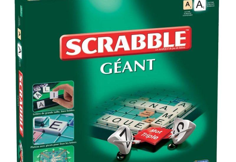 scrabble géant pour senior