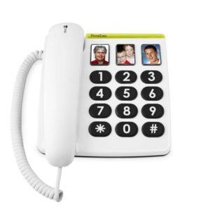 téléphone fixe à grosses touches pour seniors